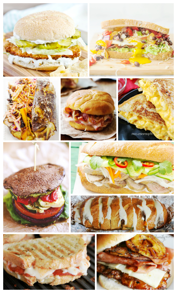 Sandwich and panini options for your tailgate