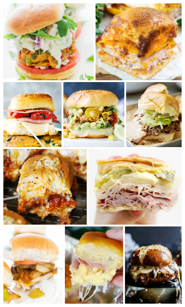 A sampling of the best sliders for your next tailgate