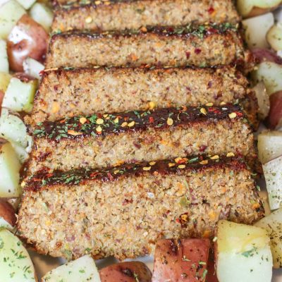 Southern Style Vegetarian Meatloaf