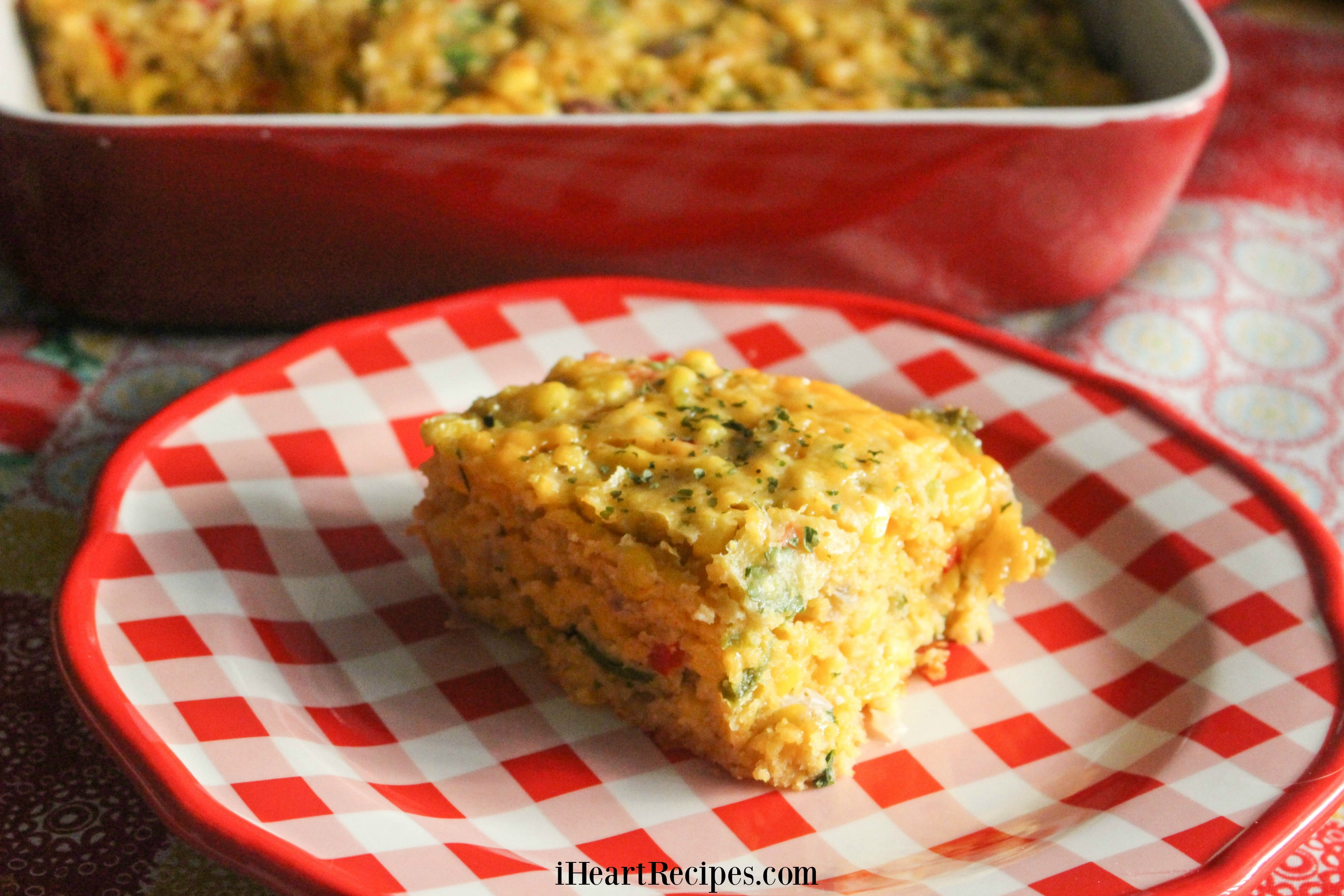 This sweet and savory corn casserole is a real family favoite