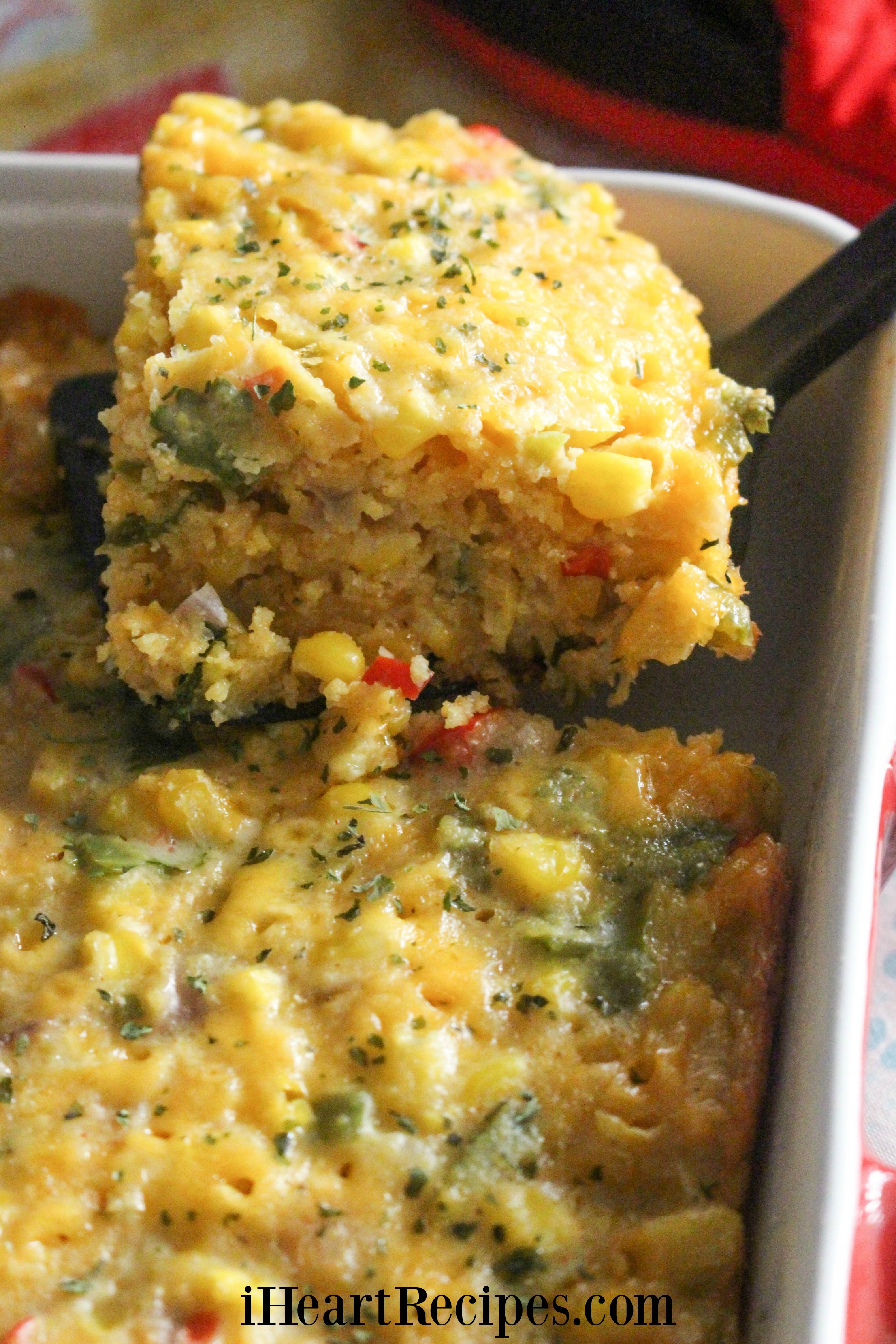 This light and fluffy corn casserole is a favorite for any occassion