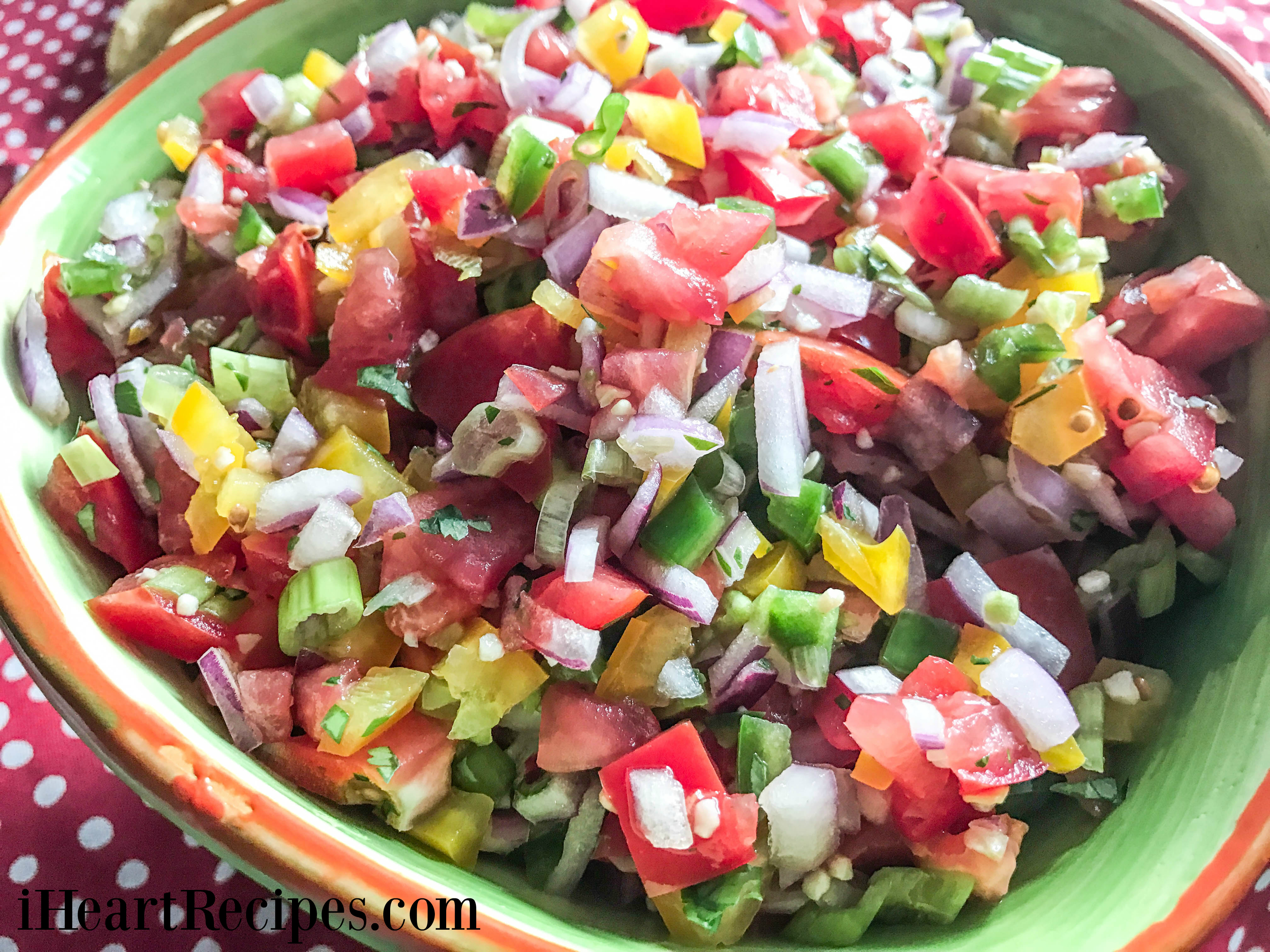Easy Pico de Gallo | I Heart Recipes