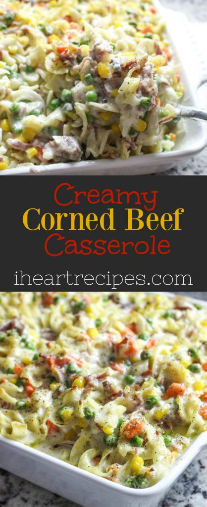 Homemade Creamy Corned Beef Casserole Recipe