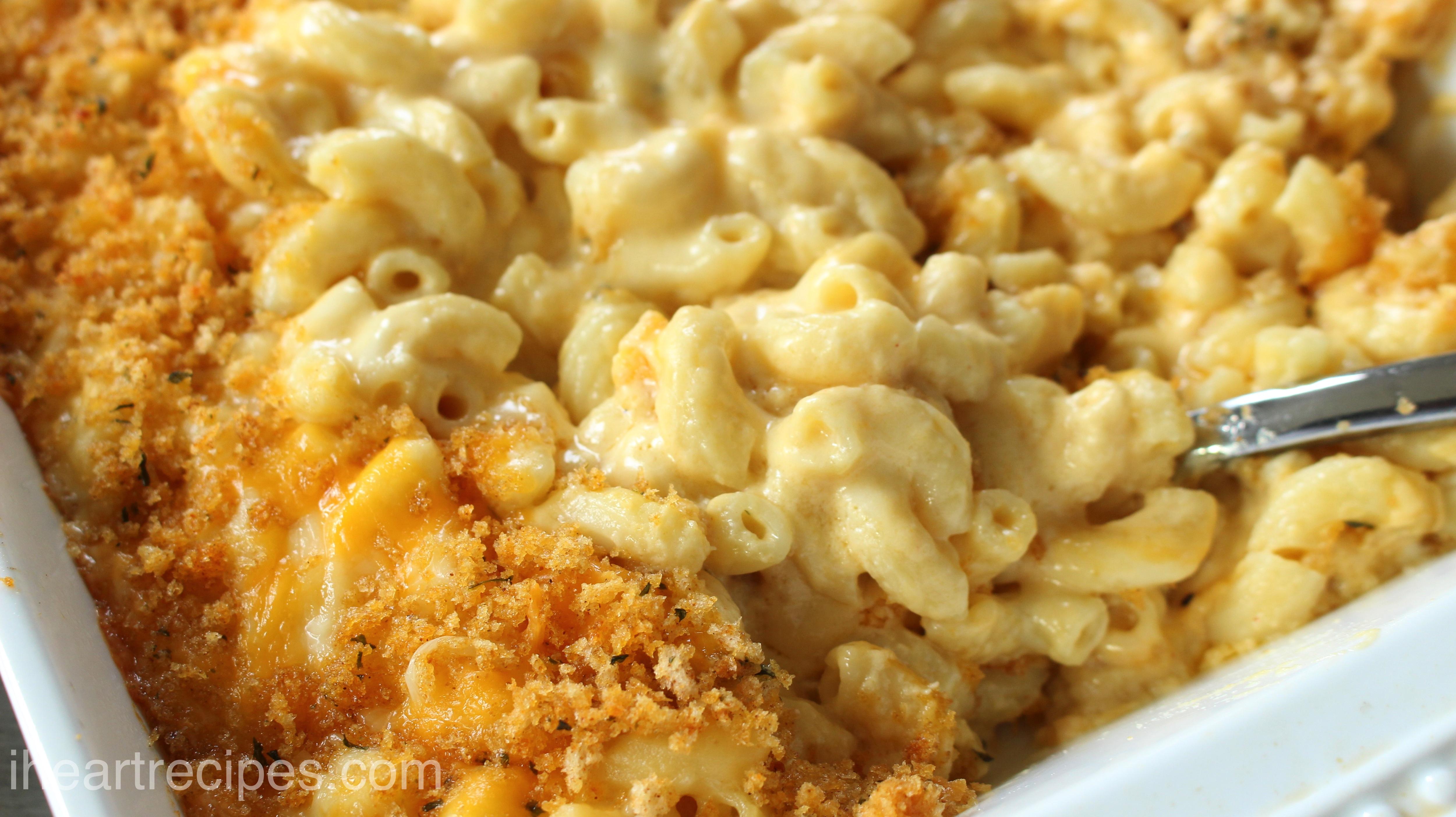 Southern Baked Macaroni Cheese I Heart Recipes