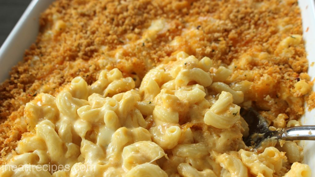 Melty and delicious macaroni and cheese