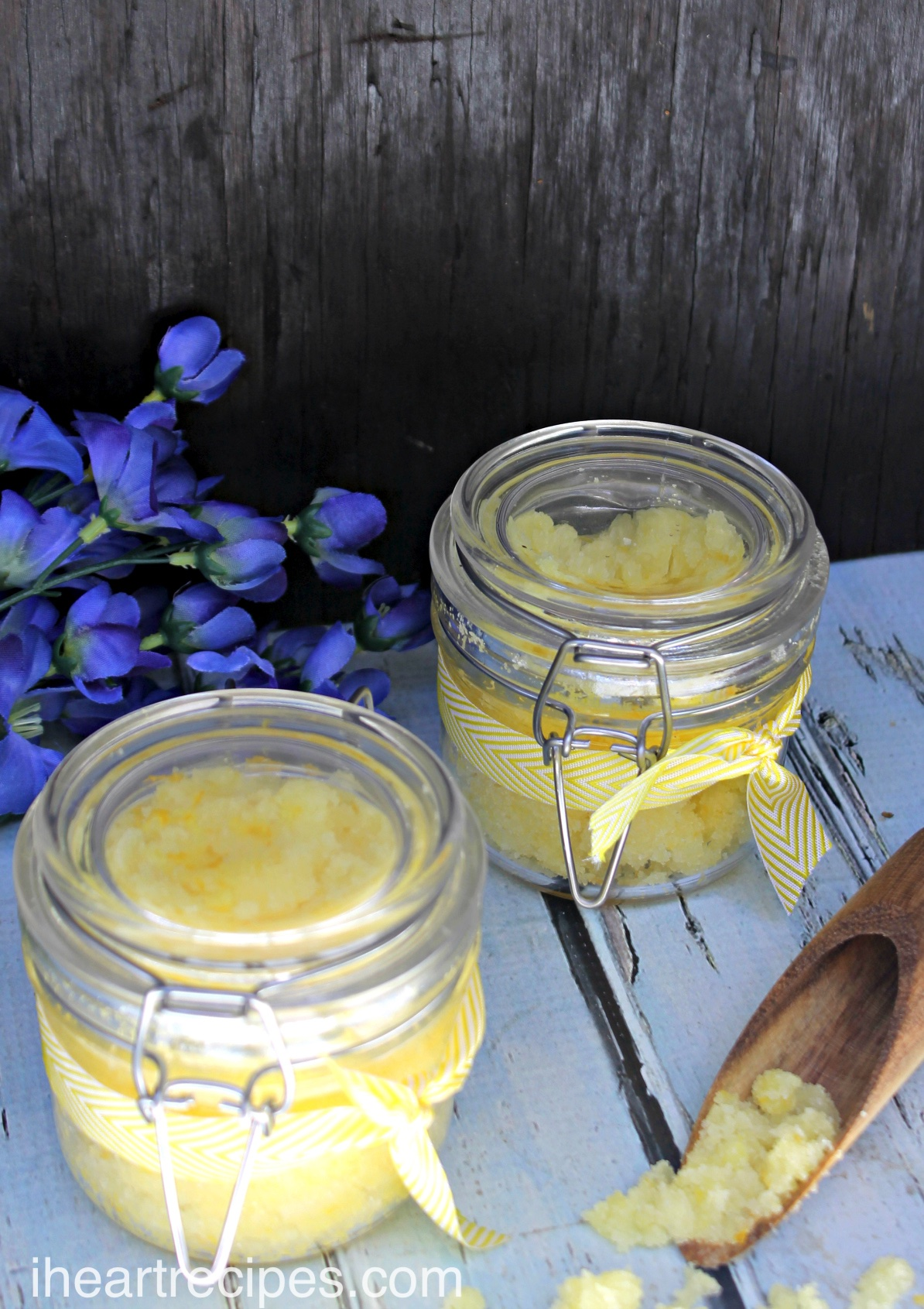 Homemade Lemon Body Scrub I Heart Recipes