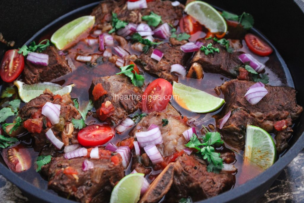 Tender beef short ribs slow cooked and seasoned to perfection