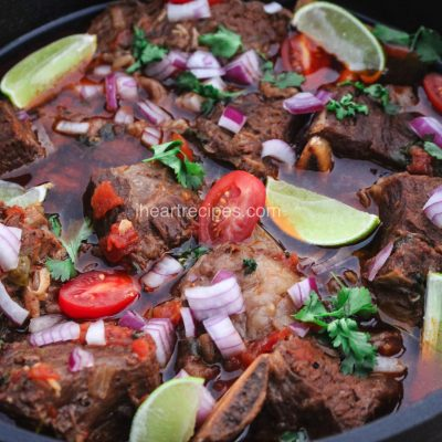 Tex Mex Beef Short Ribs