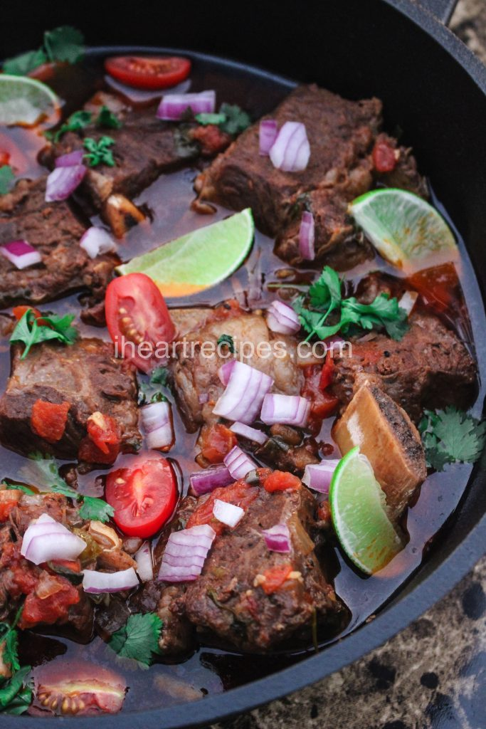 Tex Mex seasonings give this recipe a bit of a kick, and tomatoes, limes, onions and more give it a freshness