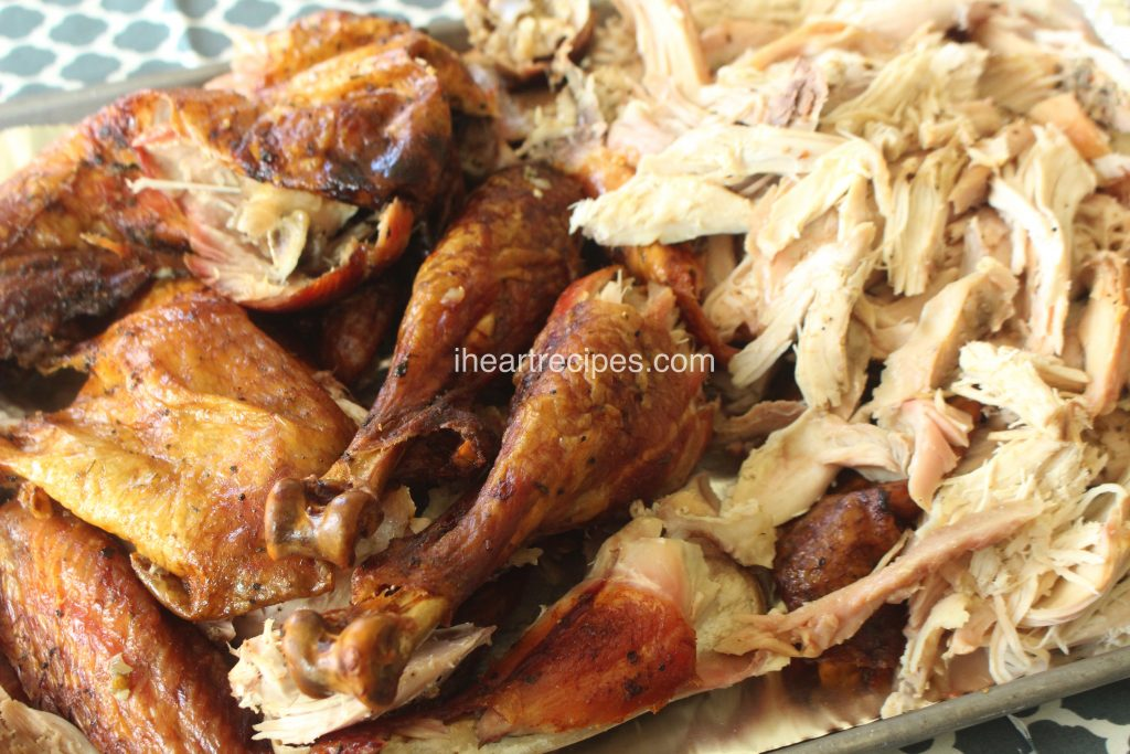 Tender, juicy white meat turkey is packed with smokey flavor