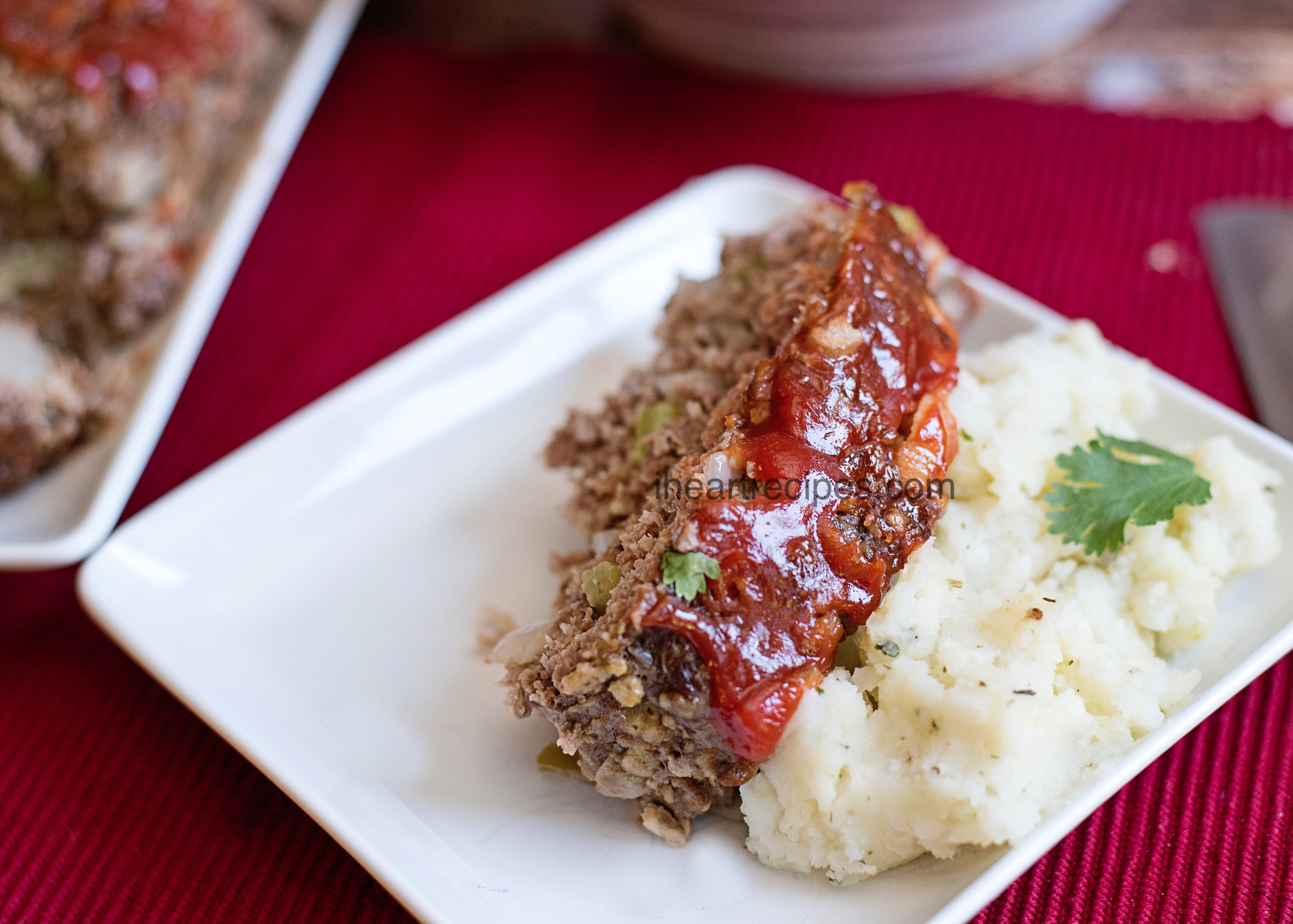 This classic meatloaf is perfectly seasoned and topped with a rich tomato ketchup