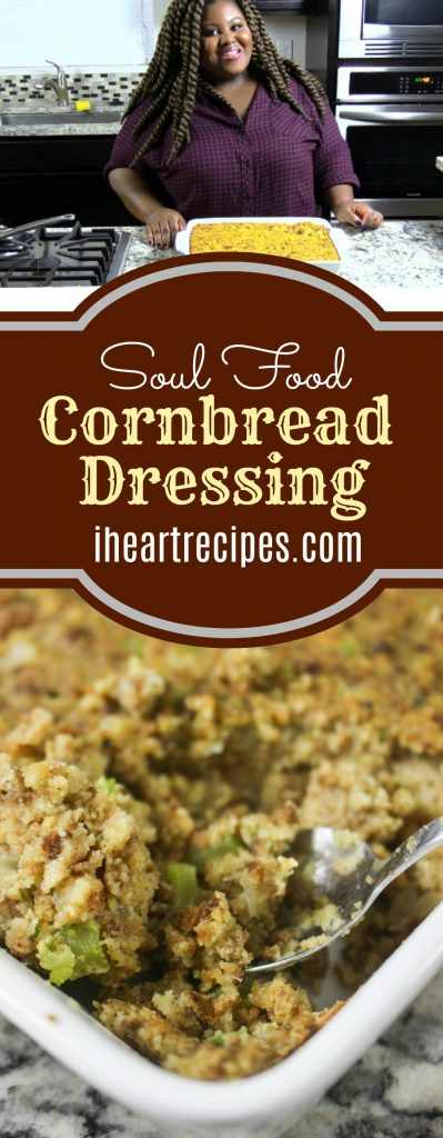 Soul Food Cornbread Dressing | I Heart Recipes