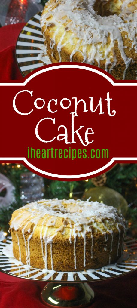 Homemade Coconut Cake from Scratch - A Simple Recipe with All Natural Ingredients