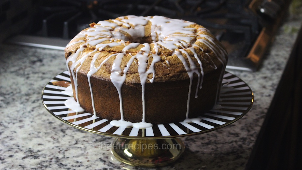 This flavorful from-scratch Sock It To Me cake is a classic southern recipe