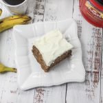 Old fashioned hummingbird cake with cream cheese frosting