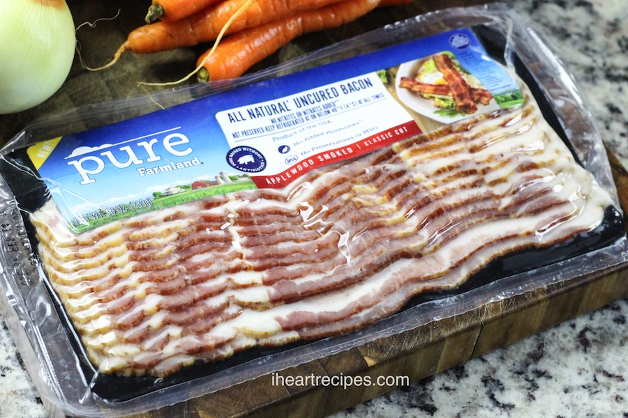 I use Pure Farmland bacon in my cabbage and bacon stir fry