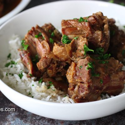 Southern Smothered Turkey Necks