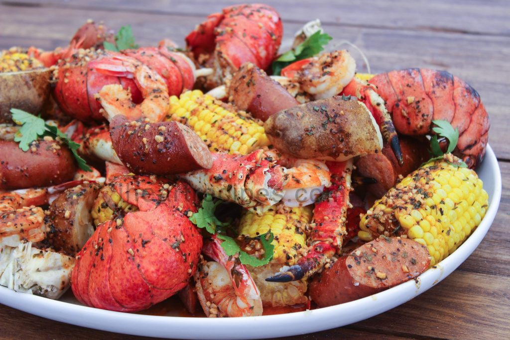 Homemade seafood boil is better that restaurant style,