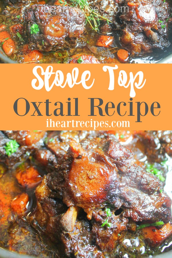 Stove Top Oxtails is the perfect comfort meal your whole family will love!