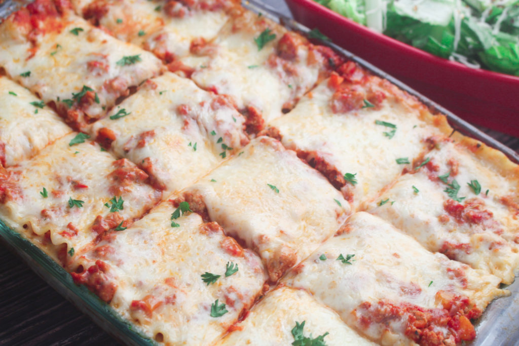 Deliciously cheesy turkey lasagna is an easy dinner recipe for the family
