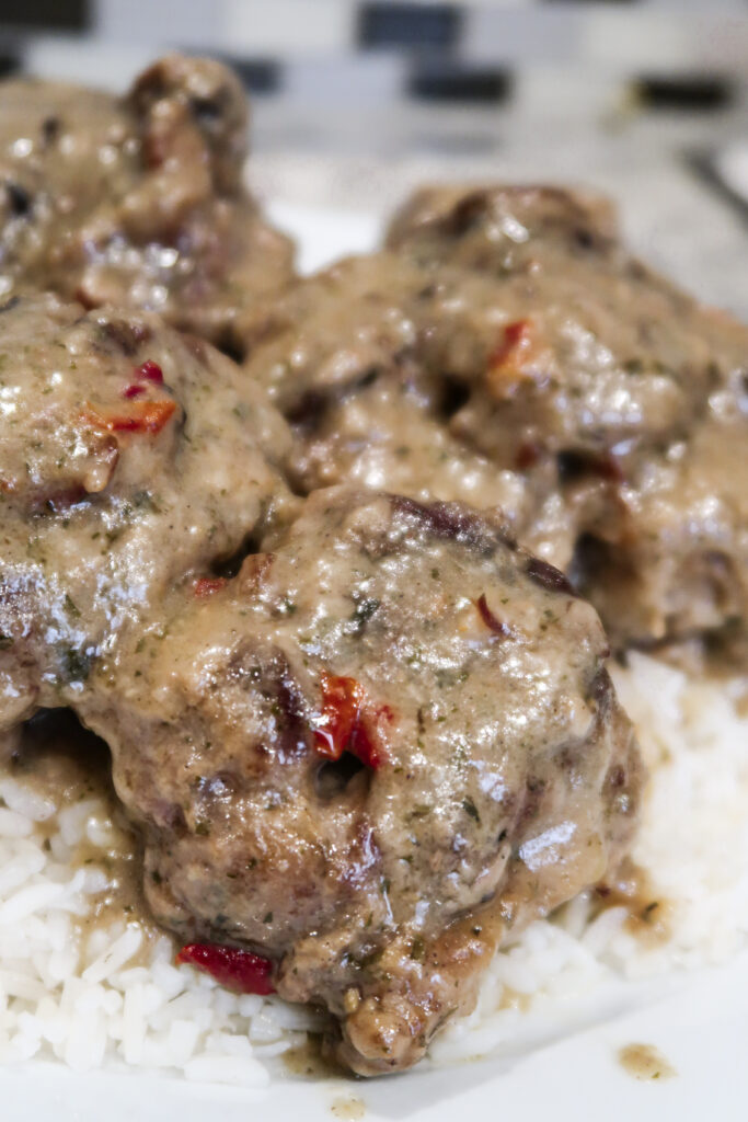 Smothered oxtails are a hearty, delicious soul food staple.